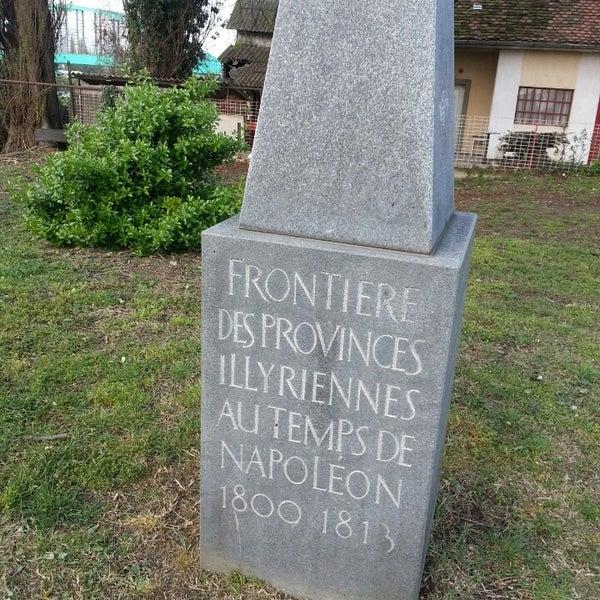 Granica Ilirskih Pokrajina U Vrijeme Napoleona Sculpture Garden