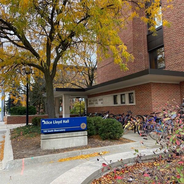 Alice Lloyd Hall College Residence Hall In Central Ann Arbor