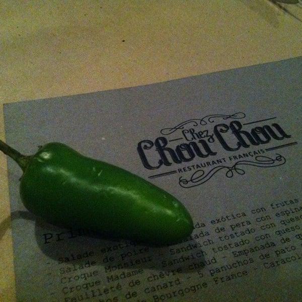 Foto diambil di Chez Chouchou oleh Lu pada 4/24/2013