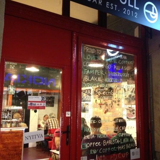 11/29/2012にFerenc B.がTamp & Pull Espresso Barで撮った写真