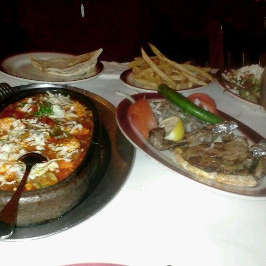 Photo taken at Taci's Beyti Restaurant by Radmila P. on 12/1/2012