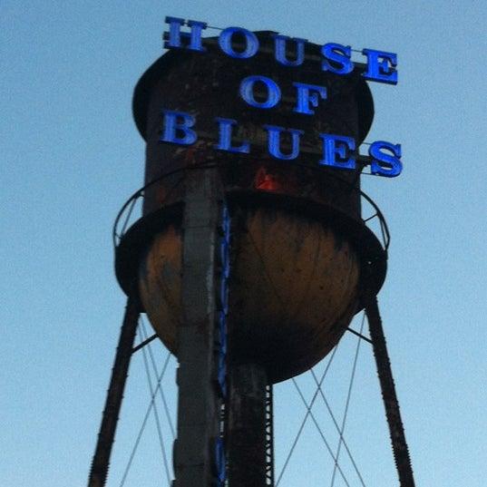 10/22/2012에 Jerri M.님이 House of Blues에서 찍은 사진
