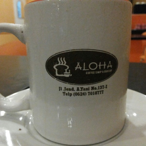Photo Taken At Aloha Coffee Shop Amp Bakery By Jonson K On 11