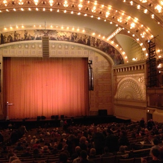 11/10/2012 tarihinde Ed K.ziyaretçi tarafından Auditorium Theatre'de çekilen fotoğraf