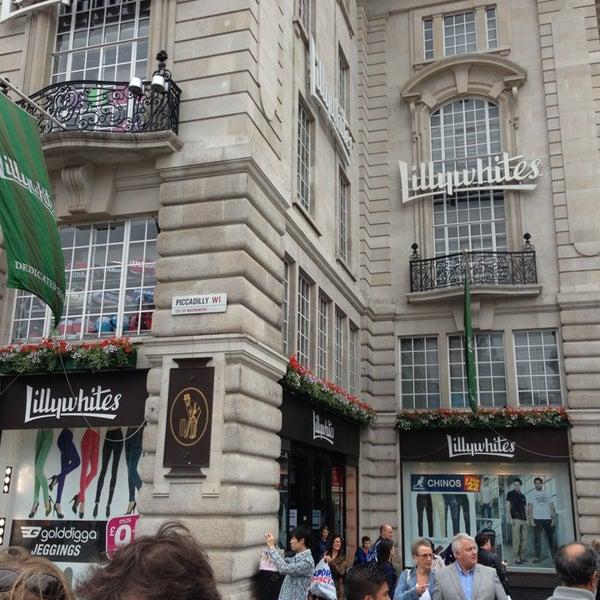 Lillywhites 36 Regent 24 Piccadilly St dxshQrtCB