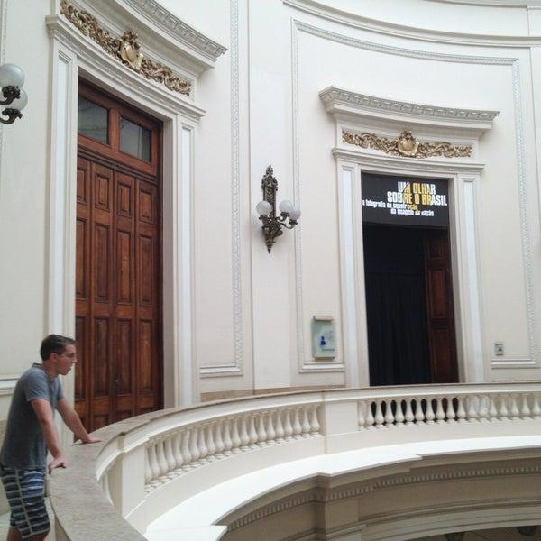 Photo taken at Centro Cultural Banco do Brasil (CCBB) by Rafael M. on 3/23/2013