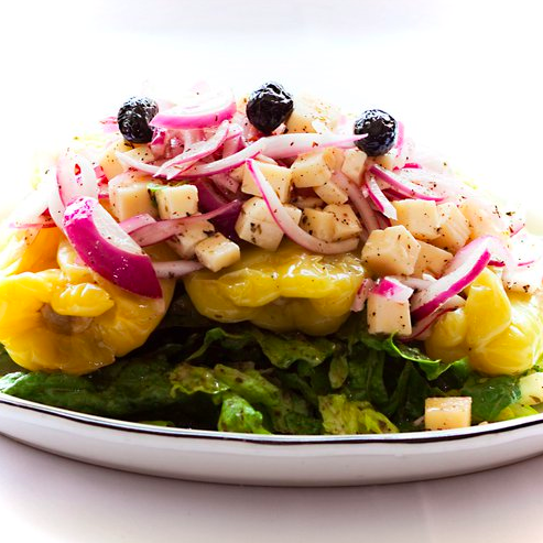 Try the melrose pepper salad, its a real classic!