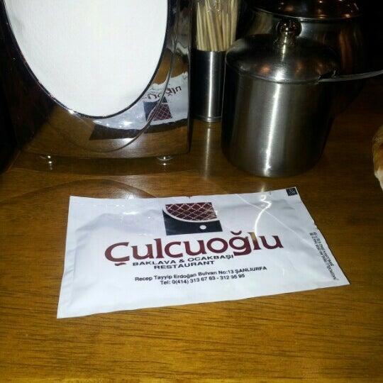 Снимок сделан в Çulcuoğlu Restaurant пользователем Alex'enda 9/14/2012