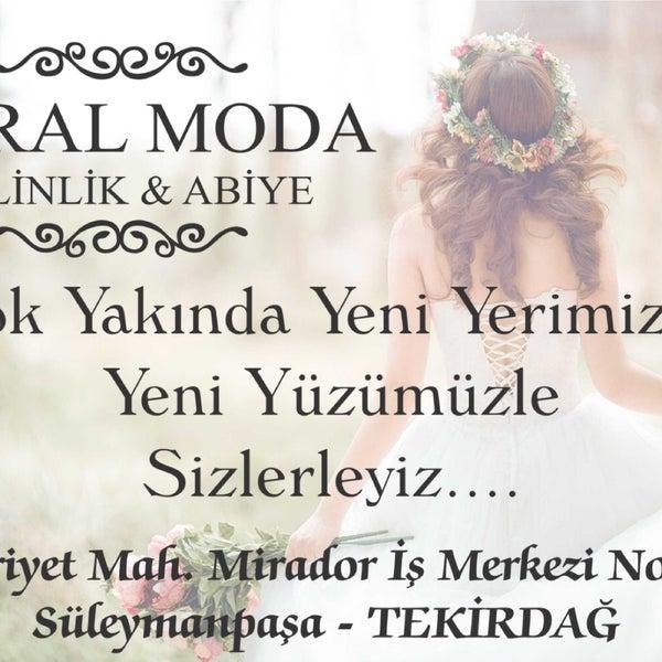 dce2fa1150996 10/5/2018 tarihinde Meral M.ziyaretçi tarafından Meral Moda Gelinlik Abiye  Süleymanpaşa