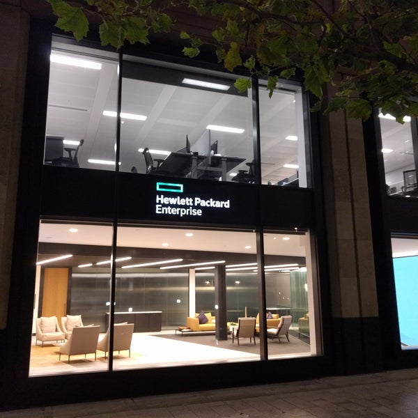 Hewlett Packard Enterprise Office In London
