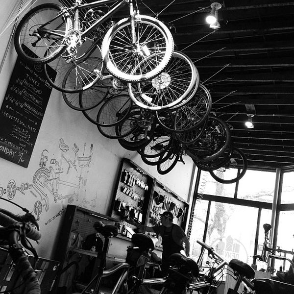 Photo taken at Denver Bicycle Cafe by Taylor B. on 5/2/2013