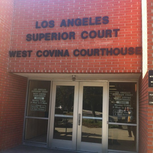 Photos at Los Angeles Superior West Covina Courthouse