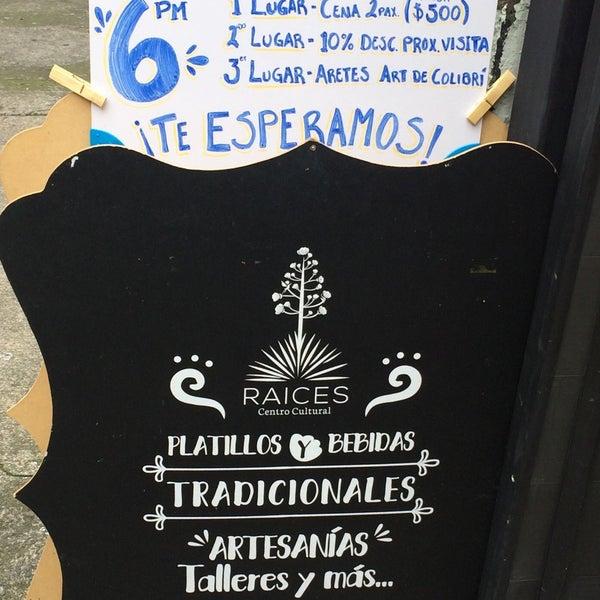 9/3/2017 tarihinde Teba G.ziyaretçi tarafından Raíces. Centro Cultural'de çekilen fotoğraf