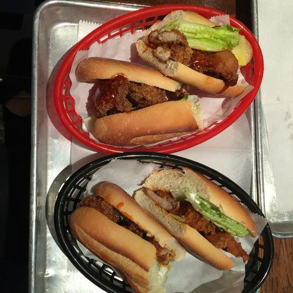 4/24/2016にSubin C.がRed Star Sandwich Shopで撮った写真