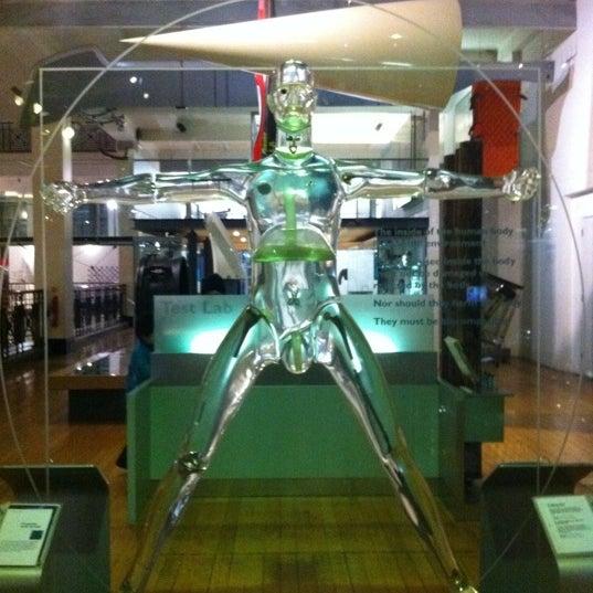 1/28/2013 tarihinde Maria N.ziyaretçi tarafından Science Museum'de çekilen fotoğraf
