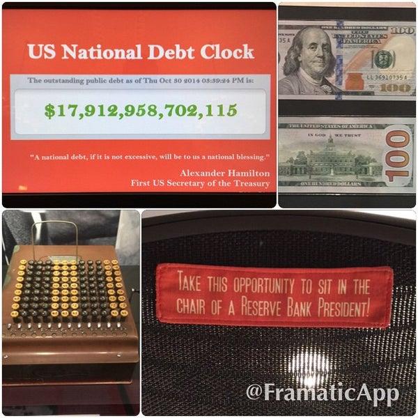 Foto tirada no(a) Museum of American Finance por Alexander O. em 10/30/2014