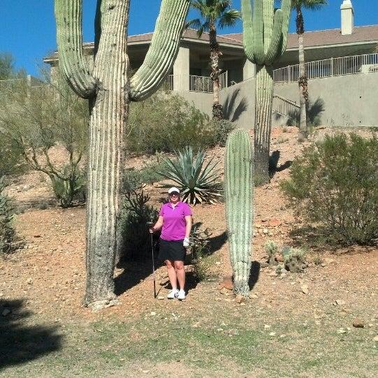 Das Foto wurde bei Desert Canyon Golf Club von Stacey G. am 2/17/2013 aufgenommen