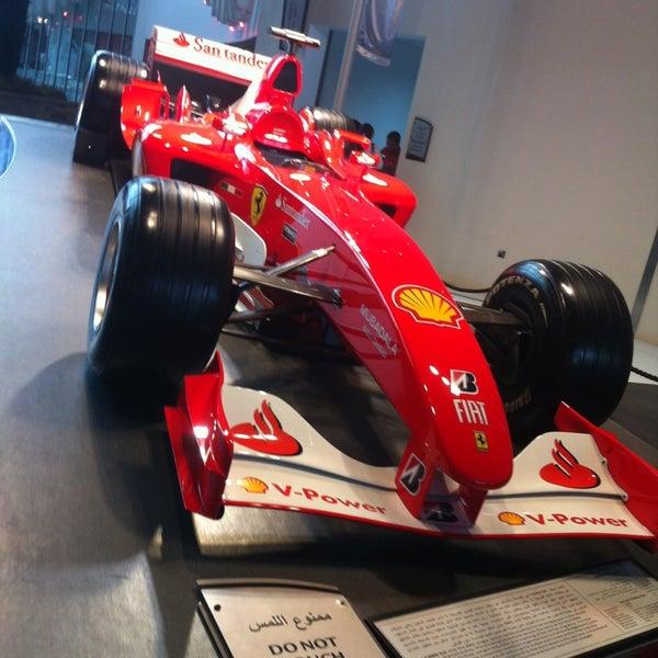 Photo taken at Ferrari World Abu Dhabi by Mirelle O. on 4/13/2013