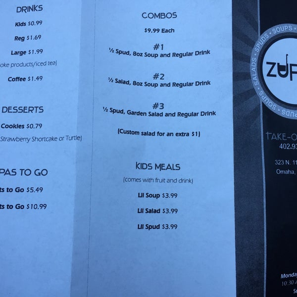 Photos At Zupas West Omaha 323 N 114th St