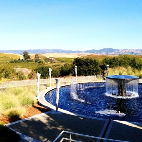 Das Foto wurde bei Artesa Vineyards & Winery von Grace C. am 10/14/2012 aufgenommen