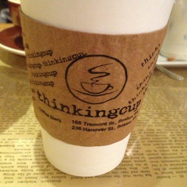 2/16/2013 tarihinde Erin S.ziyaretçi tarafından Thinking Cup'de çekilen fotoğraf