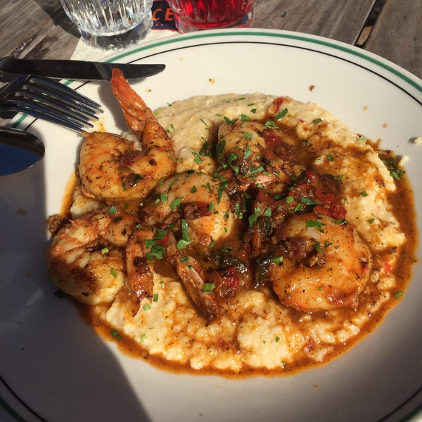 Shrimp and grits was awesome