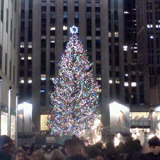 Rockefeller Center Christmas Tree 2013: Rockefeller Center Christmas Tree (Now Closed