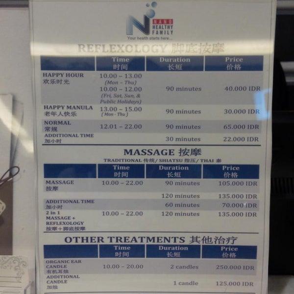 Photos at Nano reflexology - Massage Studio in Jakarta barat
