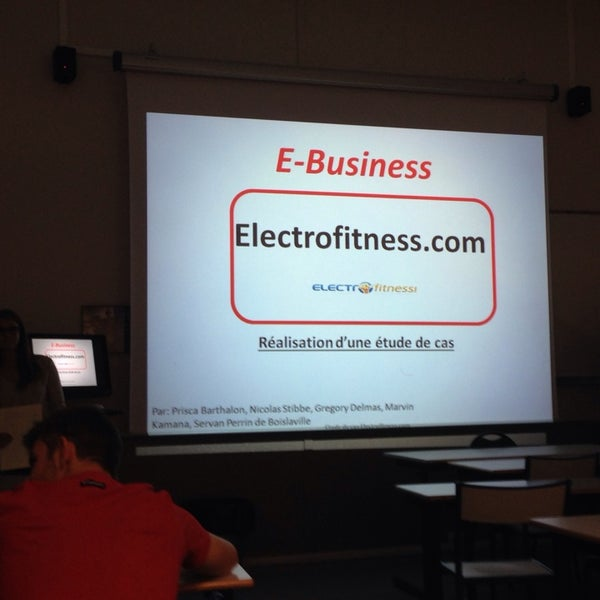 Photo Taken At EDC Paris Business School By Didier C On 11 5