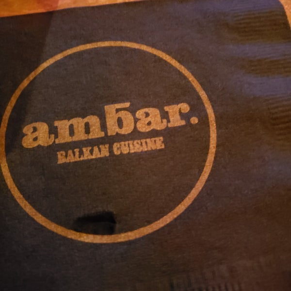 รูปภาพถ่ายที่ Ambar Balkan Cuisine โดย BC . เมื่อ 2/8/2019