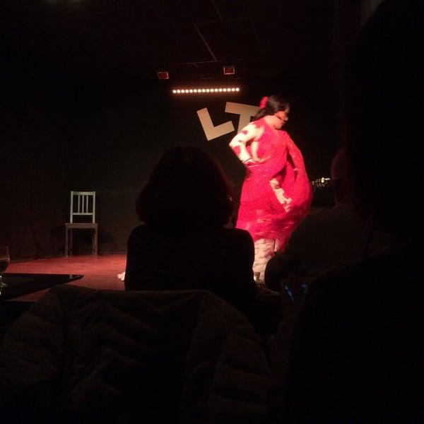 Снимок сделан в Las Tablas Tablao Flamenco пользователем Jesus R. 2/21/2016
