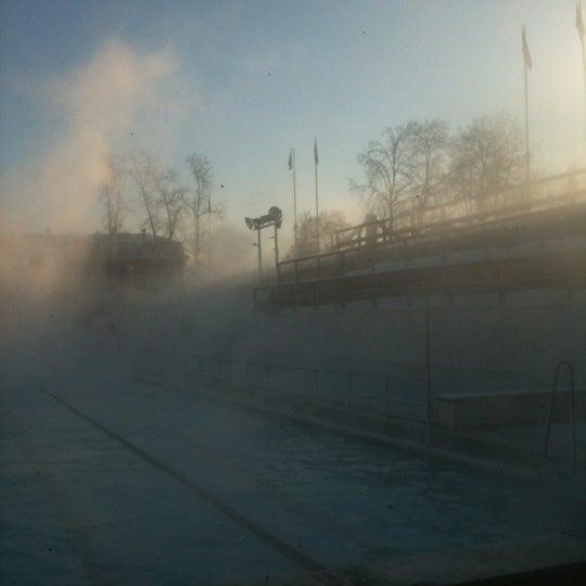 12/17/2012 tarihinde Mike L.ziyaretçi tarafından СОК «Чайка»'de çekilen fotoğraf