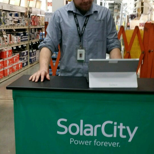 Photos at Solar City - Kiosk In Home Depot - Home Service