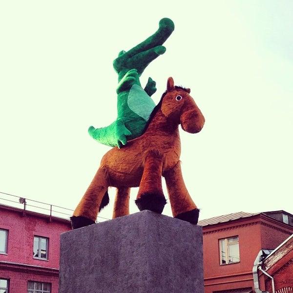 4/11/2013 tarihinde Artur P.ziyaretçi tarafından Winzavod'de çekilen fotoğraf