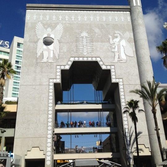 รูปภาพถ่ายที่ Hollywood & Highland Center โดย Mine U. เมื่อ 11/19/2012