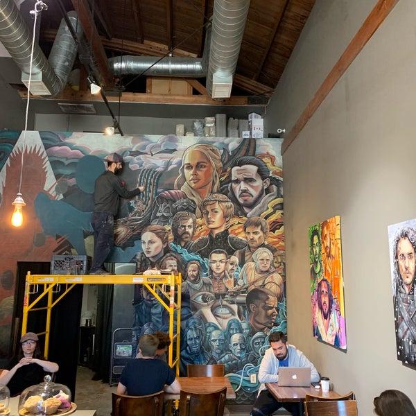 3/30/2019 tarihinde Victor .ziyaretçi tarafından Joe Coffee'de çekilen fotoğraf
