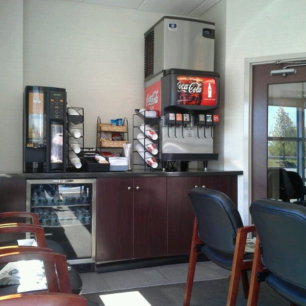 Photo Taken At Watertown Ford Service Dept By Roller G On 5 3