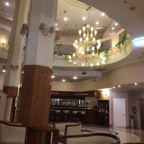 Das Foto wurde bei InterTower Hotel von Gustavo B. am 10/14/2014 aufgenommen