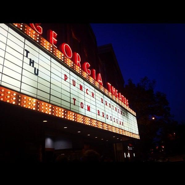 Das Foto wurde bei Georgia Theatre von Mary Elizabeth am 10/18/2012 aufgenommen