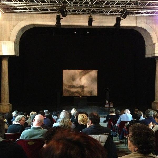 Снимок сделан в Teatro Franco Parenti пользователем Francesco F. 1/12/2013
