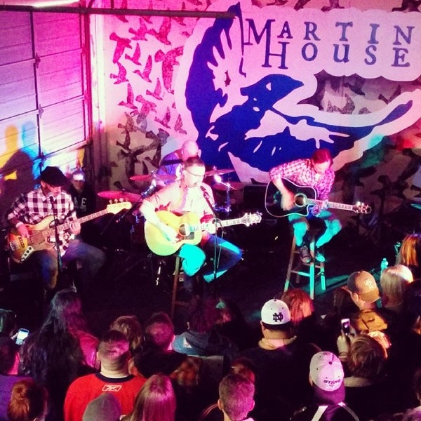 Photo taken at Martin House Brewing Company by Dan H. on 3/16/2014