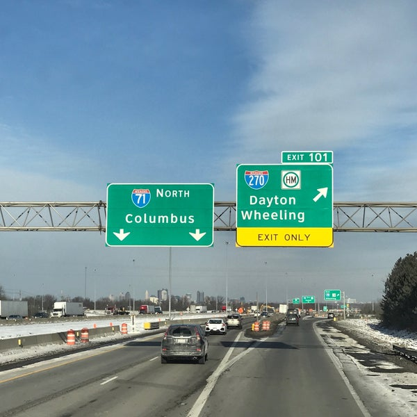 Photos at I-71 Exit 101 & I-270 Exit 55 - Intersection