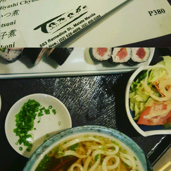 1/25/2017に💞Ivy S.がTanabe Japanese Restaurantで撮った写真