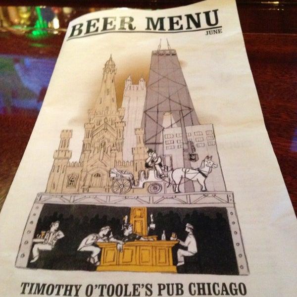 6/14/2013에 Misha K.님이 Timothy O'Toole's Chicago에서 찍은 사진