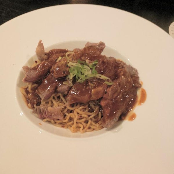 This Angus Beef Confit is not very recommended. the noodles really taste like INDOMIE & the Angus Beef are not well cooked & the texture is really hard.