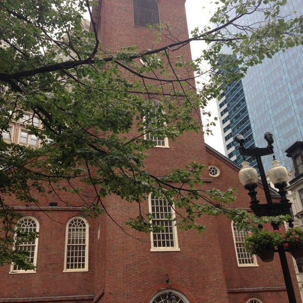 7/13/2013 tarihinde Laurent R.ziyaretçi tarafından Old South Meeting House'de çekilen fotoğraf