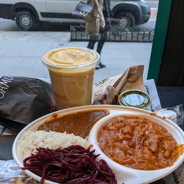 รูปภาพถ่ายที่ Deep Indian Kitchen โดย Laurent R. เมื่อ 3/9/2021