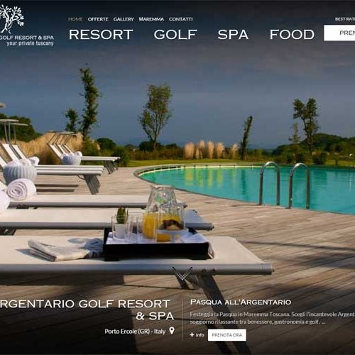 Il nostro NUOVO sito è online! Vi piace? Our NEW website is online! Do you like it? WWW.ARGENTARIORESORT.IT