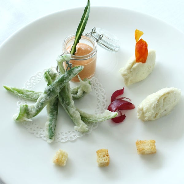 Maremma Fusion Cuisine: Friggitelli Tempura recipe