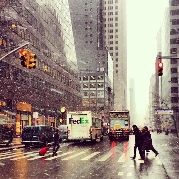 Photo Taken At 520 Madison Avenue By Nina L On 1 28 2013